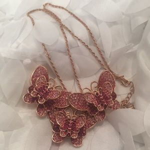 Butterfly Necklace or Brooch